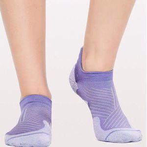 Лулу женская йога дышащая сетка против запаха функциональные носки фитнес бегущие носки полотенце нижние носки C0224