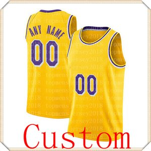 2021 JR 21 Smith Los Jersey Angeles Custom An Name Basketball Jerseys 14 Green 11 Bradley 88 Morris 1 Caldwell-Pope Jersey 77