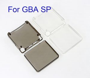 Transparent TPU Gamepad Protective Case For GBA SP Console Shell Protection Clear Case Cover for Gameboy Advance SP Accessories