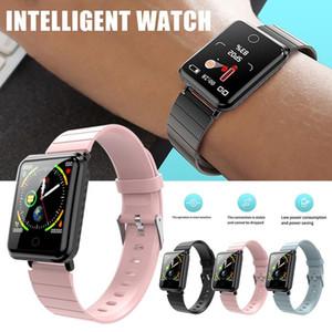 V6 Mode Smart Watch Frauen Männer Elektronik Sport Armbanduhr Quadrat Smartwatch Messung Smart Taktstunden