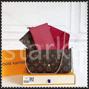 M61276 Donna di alta qualità Designer Designer Designer Fashion Crossbody Borse Portafoglio Zaino Borsa Borse Borse Borse Borse Borse Borse Borse Box Tote 3pcs