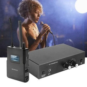 Microphones Original For ANLEON S2 UHF Stereo Wireless In-Ear Monitor System 863-865MHZ Ear Monitoring Professional Digital Sound Stage