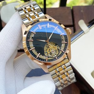 Top Mens Watches Automatic Mechanical Watch 42mm Stainless Steel Strap Gold Wristwatch Life Waterproof Design Montre de luxe