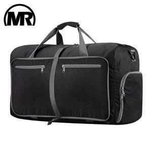 Markroyal Travel Duffle Bag 80L Foldable Weekender Tasche für Frauen Wasserdichte Schuhtasche Schulter Messenger Dropshipping