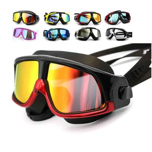 Newest Colorful Fog Anti UV Goggle Swim Glasses Fashion Swimming Goggles For Men Women Surfing Diving Eyewear