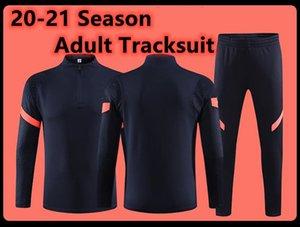 2021 Neue Männer Asromafc Männer Jerseys MAILLOT Erwachsene Fußball Trainingsanzug Survetement Jogging Training Anzug Kits Equipe Jerseys Chandal Futbol