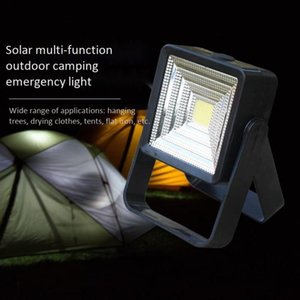 New solar super bright LED camping lamp portable rechargeable emergency tent light