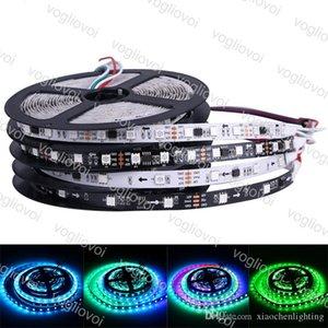 LED Tira DC5V 12V 24V WS2813 5050 SMD 30LEDS / M 60LEDS / M RGB Fita LED 5 M Mágica Dream Direccionável Cor Digital DHL