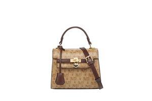 High Quality 2021 Retro Zipper Bags Luxury Handbags Fshion Tote Bag Crossbody Bag new style Checkered bag 8265
