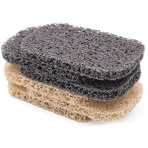 SOAP Saver Pads Soap Lift ل صحن متعدد الاتجاهات البيولاستيكية الكفاءة استنزاف 6 قطعة مجموعة