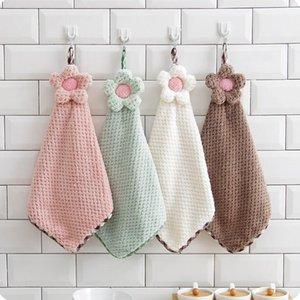 Дети подсолнечника висит полотенце милый мультфильм детей протирать полотенце для мытья воды маленькое полотенце детский сад протрите лицо руки полотенца YL394