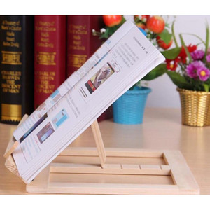 Adjustable Portable Wood Book Stand Holder Wooden Bookstands Laptop Tablet Study Cook Recipe Books Stands Desk Draw jllasb sport777