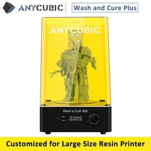 2021 Newest ANYCUBIC Wash and Cure Plus Washing Model and Curing Model 2 in 1 For Photon Mono X Mars Pro Large Resin 3d Printer