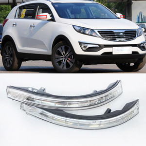 Rear view Rearview Mirror LED Turn Signal Lamp light blink For KIA Sportage 2011 2012 2013 2014 876144T000 876244T000