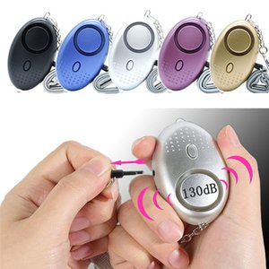 SOS Emergency Alarms 120db Keychain Alarm System Personal with LED Light Protect Alert Safety Security Systems