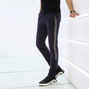 Binhiiro Summer Pantaloni da uomo Pantaloni sottili sezione sottile elastici pantaloni casual uomo misto cotone jogging pantaloni sportivi maschili nuovo k9908 201106