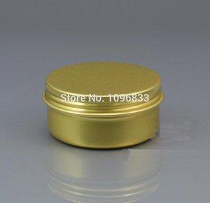 100G золотые цветные алюминиевые банки, металлические сливки 100 мл, банка из металла 100 мл, косметическая алюминиевая банка, пустая металлическая коробка, контейнер для упаковки барабанов, 50 шт. / Лот
