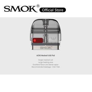 Smok ACRO POD cartuccia da 2 ml con bobina di maglia da 0,8ohm per ACRO POD Kit Sistema di riempimento lato VAPE dispositivo 100% originale
