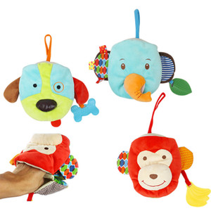 Animal Hand puppet Baby's Cloth Book Toys Mother and Baby Interactive Toy Comfort Toy Cute Animal Hand Puppet Cloth Book