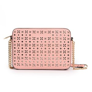 Chain Hollow Bag Small Square Bag 2021 New Korean Fashion Handbag Simple One Shoulder Messenger Bag Women Luxurys Designers Bags Handbags