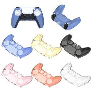 Funda protectora transparente para el controlador PS5 cubierta de protección de protección transparente para PlayStation 5 Accesorios de gamepad