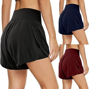 Women's Sleepwear Summer Exercise Gym Shorts Casual Slim Sports Pants Ankle-length Trousers Harem Simple Solid Lady Training