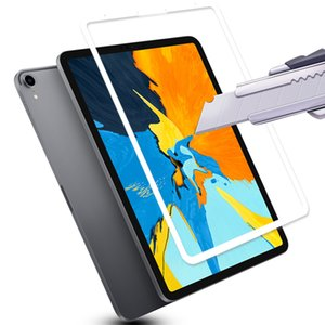 10D Tempered Glass For iPad Pro 12.9 Screen Protectors 11 10.5 9.7 Full Coverage HD Protective