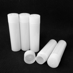 Plastik Boru Ham Bahçe Arabaları için Kalın Yağ Vape Kartuşları Ambalaj Kartuşu Beyaz PP Tüpler Konteyner 70mm DHL Ücretsiz