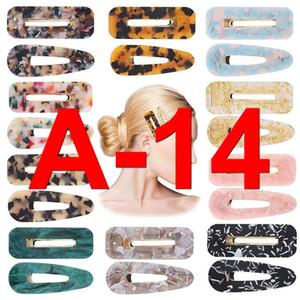 A-14 Matte Cute Rabbit Hair Pins For Women Hair Pin Clips Barrette Bangs Duckbill Hair Pins Girls Accessories Headbands For Women Q bbytsx
