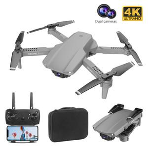 E99 Folding Rc drone 1080p HD Single Camera drone Aerial Photography Long Endurance Foldable Quadcopter RC Dron Toys 10pcs DHL
