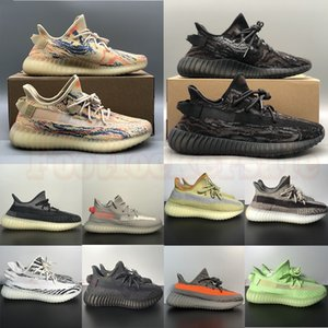 2021 Arrival Mens Womens Dress Shoes Casual Sports Sneakers Big Size Us 13 MX Rock Oat Mono Ice Clay Beluga Reflective Black White Ash Blue Zebra Trainers EUR 36-48