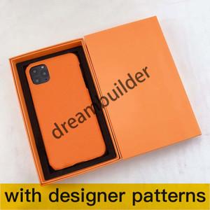 8 Renk Moda Telefon Kılıfları Için iPhone 12 Pro Max 11 11pro 11promax 7 8Plus X XR XS XSMAX Durumda PU Deri Tasarımcı Samsung S10 20 Artı Not 10 P 20U Ultra Kabuk