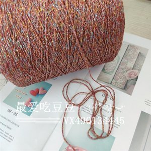 Fine Characteristic Wool Pure Silk Flash Black Gold Hollow Yarn Hand Knitting Small Violence Bear Acrylic Bag Crochet Line