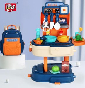 Fabrik Direct Sale Kinder Schultasche Makaron Haustier Tier Multifunktionale Supermarkt Küchenarzt Home Dressing Table