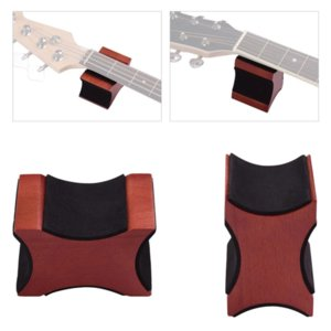 2 in 1 Guitar Neck Rest Support Pillow Electric Acoustic Bass Ukulele String Instrument Stand Rack Luthier Tool