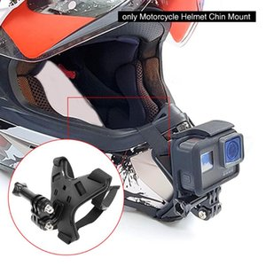 Motorcycle Helmets Safety Driving Protective Gears Strap With Frame Housing Helmet Chin Mount Motion Recorder For 8 Action Camera