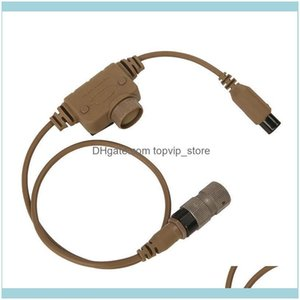 Tactical Hunting Sports & Outdoorstactical Fcs Rac Dedicated P6 Pins For Tca Tri Prc-148 152 Military Comtac 3 Ach Communication Headphones