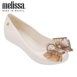 NOUVEAU Melissa Adulto Space IV Jelly Chaussures Melissa Femmes Sandales Femmes Jelly Bow Sandalie Metal Sandales Kawaii Sandales Summer Shoes 210308