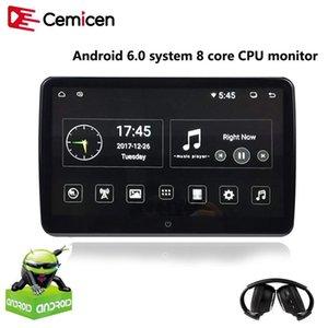 Cericen 10.6 인치 안드로이드 6.0 자동차 머리 받침대 모니터 1920 * 1080 HD 1080P 비디오 IPS 터치 스크린 3G 와이파이 USB / SD / HDMI / IR / FM / Bluetooth