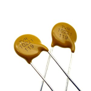 15Pcs Varistor TVR10221 10D221 Power Surge Protection Pitch 7 Yellow