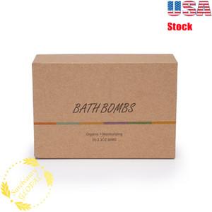 6Pcs Essential Oil Scented Bubble Bath Salts Bombs Bathing Scented Essential Oil Handmade Ball Gift USA