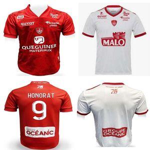 High Quali20 21 Maillot de pé Brest Stade 29 Jerseys de futebol Home 2020 2021Diallo Charbonnier Lasne Faussurier Grandsir Brosis