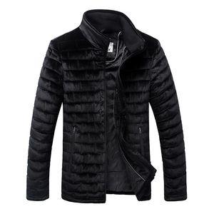 2021 Hot Sale Winter Jacket Man Fashion Cotton Padded Jacket Puffer Stand Collar Mens Winter Coats Autumn Jackets Outwear