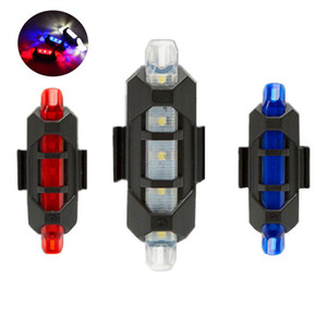 Bike Bicycle Tail Light Battery USB LED Rechargeable Waterproof Seat Post Frame Lamp Flashlight High Luminosity Red Other