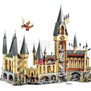 Compatible with LEGO 83037 Harry Potter film Hogwarts Castle assembly building block toy 16060