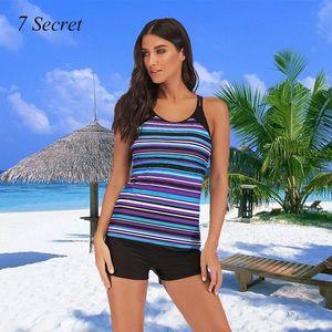 Women's Swimwear Two Piece Swimsuit For Women Plus Size 2021 Strape Print Bathing Suit S-5XL Separate Summer Beachwear Tankinis Set