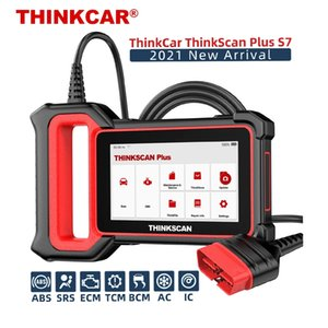 ThinkCar Tool Diagnostico Automotive Thinkscan Plus S7 OBD2 Scanner Multi System Scan SAS SRS DPF Reset Resetter di reset