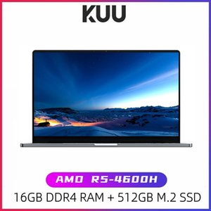 Laptops KUU G3 Laptop AMD R5 4600H 6 Cores 12 Threads16GB DDR4 RAM 512GB M.2 SSD