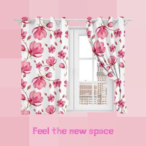 Curtain & Drapes Punch Hook Blackout Girl Customized Full Shade Sunscreen Blinds For Windows Home Kitchen Bedroom LivingRoom Decoration