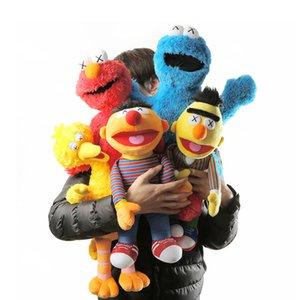 45см-52см кунжуш-кав Эльмо Эрни Берт фаршированные плюшевые влюбленные куклы игрушки для подарка